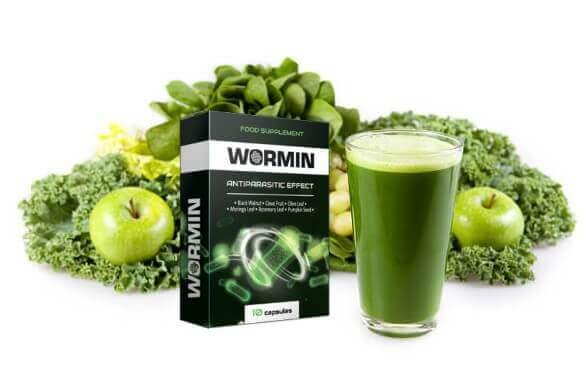 wormin Capsules Désintoxication