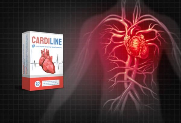 cardiline capsules hypertension cœur
