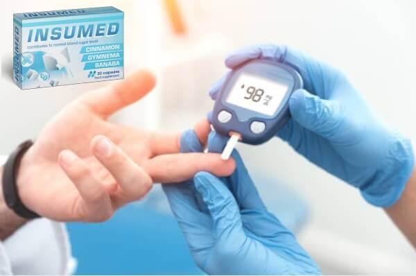 insumed, capsules Diabète glycémie