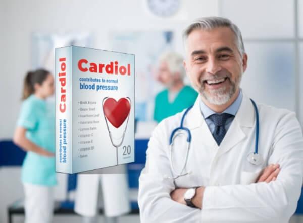 cardiol capsules cœur hypertension artérielle