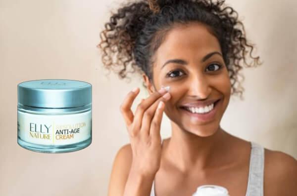 elly nature resolution cream, anti-âge