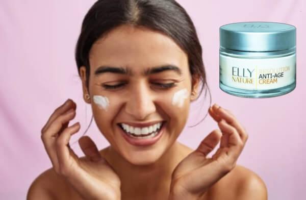 Resolution Cream Elly Nature, crème soins de la peau du visage les rides anti-âge