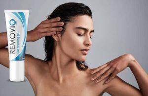 Removio Gel Révision – Formule biologique pour une peau rougeoyante sans papillomes et verrues!