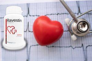 Ravestin – Un taux de cholestérol élevé ? Artériosclérose? Aidez votre corps à les prévenir